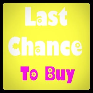 Other - Last Chance On Most Clothing
